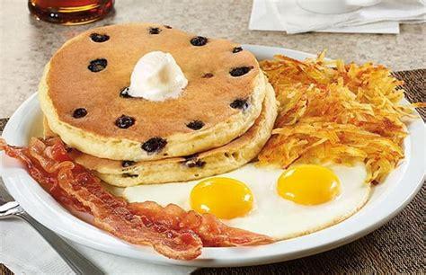 item blueberry pancake breakfast denny s