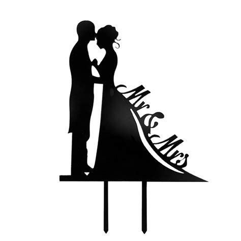 Wedding Font Silhouette by Popular Silhouette Decorations Buy Cheap Silhouette