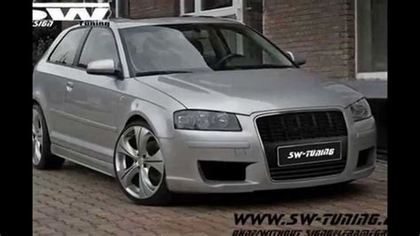 Audi A3 8p T R by Bodykit For Audi A3 8p Singleframe Design Sw Design