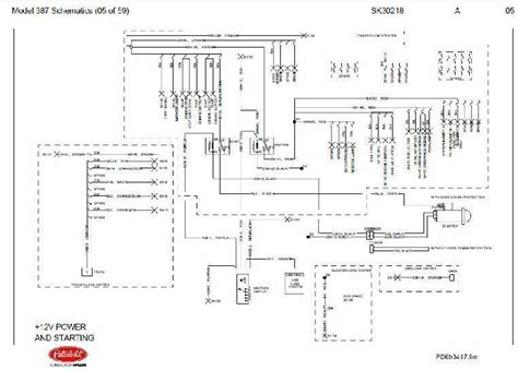 Before Oct 15 2001 Peterbilt 387 Complete Wiring Diagram