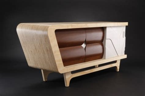 Modern Credenza Retro Style Furniture Versatile Form Modern Retro Furniture