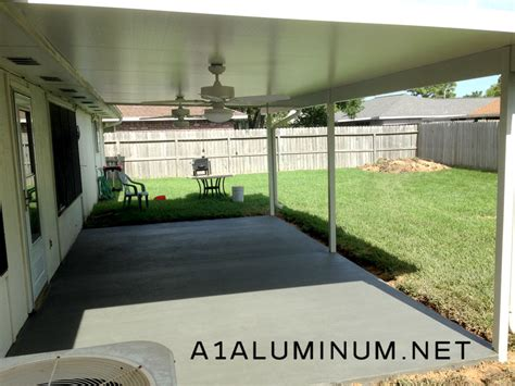 aluminum patio cover non insulated image gallery insulated aluminum patio covers