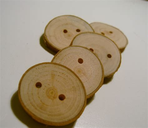 Handmade Button - handmade wooden tree branch buttons on luulla