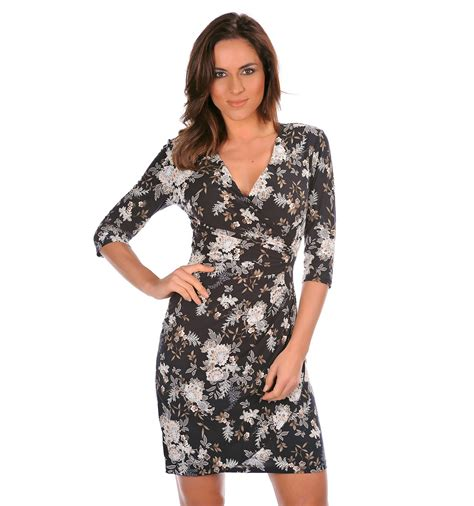 Dress Canon canon black printed dress to buy it is not expensive