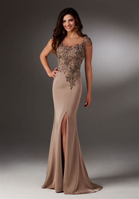 Evening Gown silky crepe evening gown style 71511 morilee