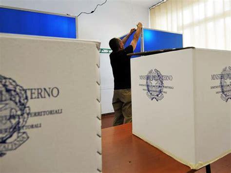 interno elezioni regionali elezioni