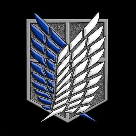 Snk Scouting Legion Emblem Frame the scouting legion recon corps survey coprs by inwind on deviantart