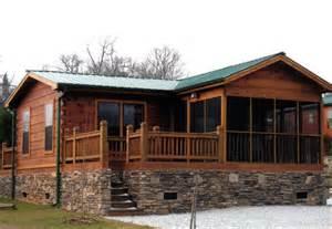 Log cabin rv