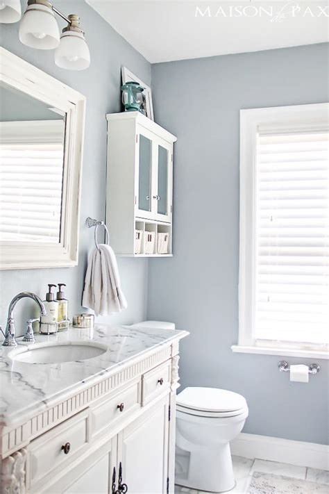 Paint Colors For Small Bathrooms - 33 decor ideas that make small bathrooms feel bigger