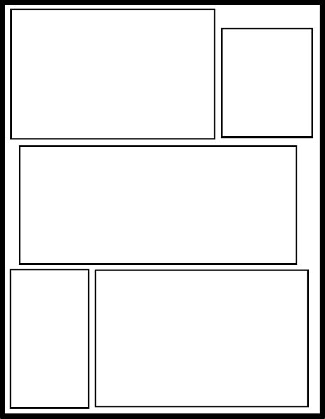 comic template for smt 30 by comic templates on deviantart