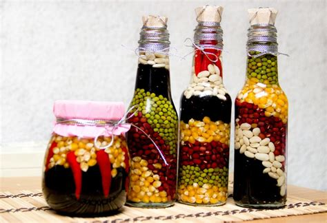 Decoration Crafts by Diy Decorations From Reuse Glass Bottles Recycled Things