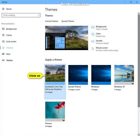 themes store com install themes from store in windows 10 windows 10 tutorials