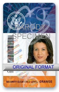 cia id cards  novelty cia id badges