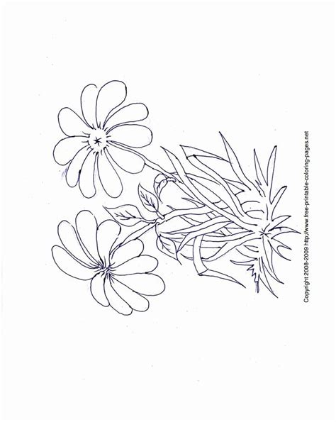 simple flower coloring pages coloring home simple flower coloring page coloring home