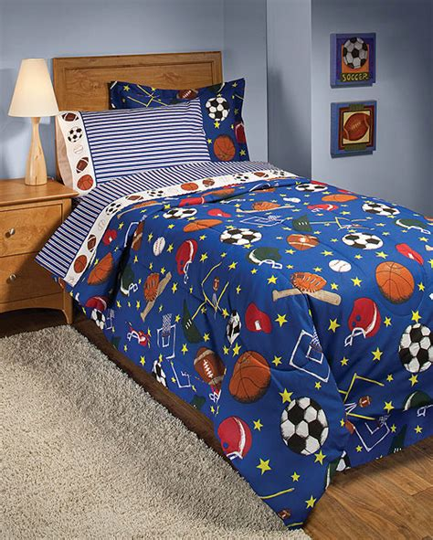 twin sports bedding new 6pc american sports twin bedding set football