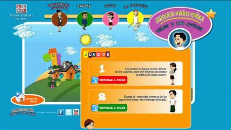 imagenes de justicia para niños de primaria justicia para ni 241 os poder judicial per 250 youtube