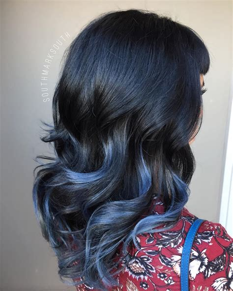 blue black hair how to get it right