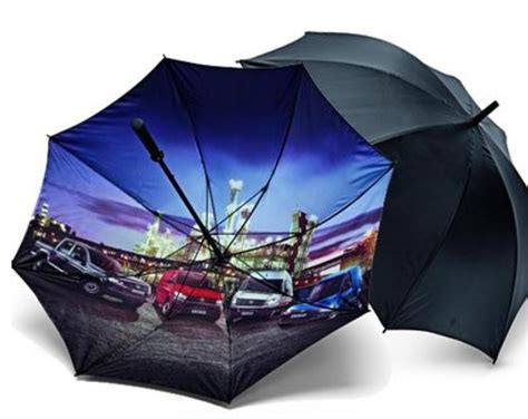 new volkswagen commercial vehicles umbrella vw stick