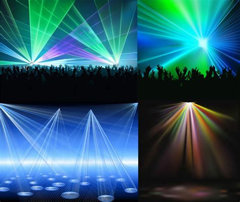 Laser display background Free vector in Encapsulated