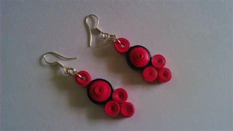 Handmade Paper Earrings - handmade paper quilled earrings shopping