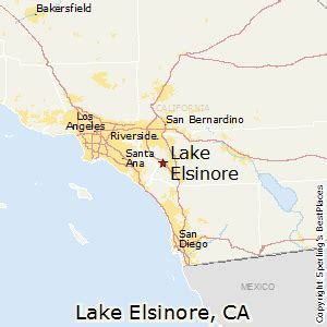 lake elsinore california map best places to live in lake elsinore california