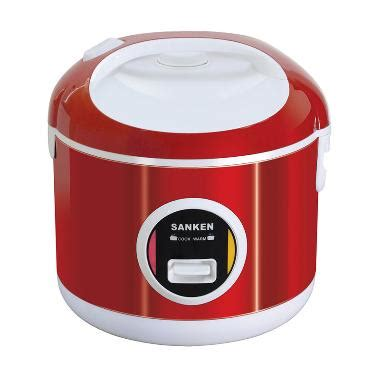 Rice Cooker Mini Sanken jual sanken sj 200 rice cooker merah 1 l