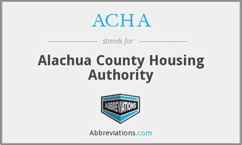 Alachua County Housing Authority acha alachua county housing authority