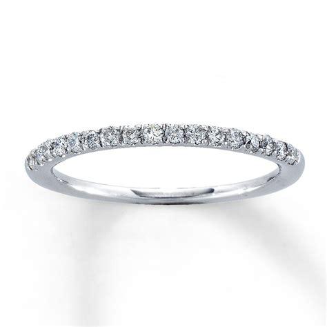 Skun Ring 1 4 jared anniversary band 1 4 ct tw cut 14k white gold
