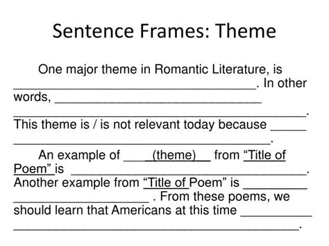 key themes in literature ppt monday sponge simile metaphor hyperbole or