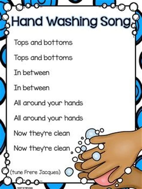 pattern hands lyrics 25 best ideas about hand washing on pinterest germs for