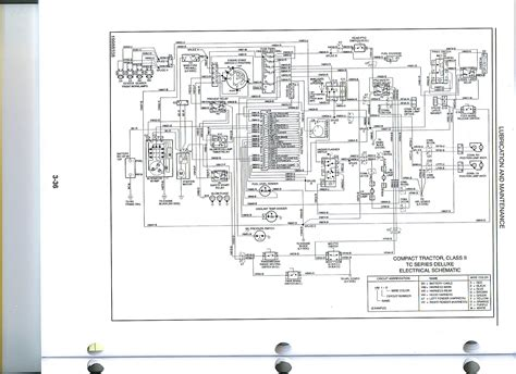 new tractor wiring diagram new ts110