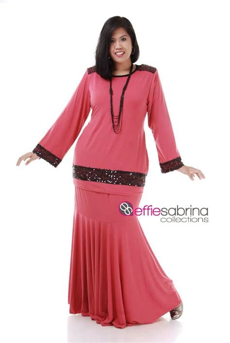 Baju Kurung Raya Plus Size effiesabrina collections to plus size exclusive clothes n july 2014