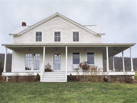 Wraparound Porch Farmhouse Plans With Wrap Around Porches
