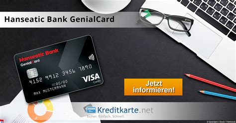 hanseatic bank partner hanseatic bank genialcard konditionen im test