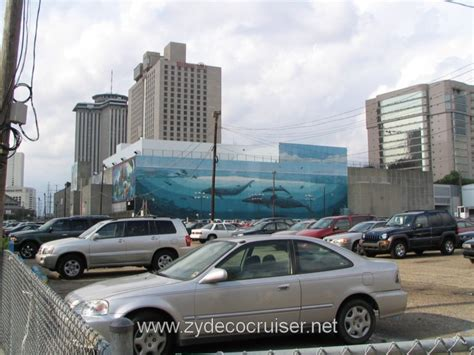 port of new orleans parking cruise critic message board