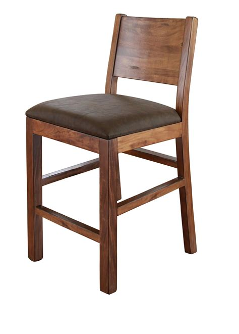 International Furniture Direct Bar Stools by International Furniture Direct Parota Ifdi Ifd865bs30 30