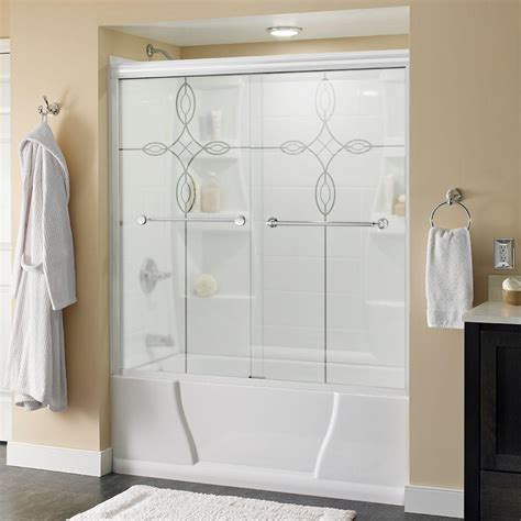 Contractors Wardrobe Shower Doors Contractors Wardrobe Shower Doors Showers The Home Depot