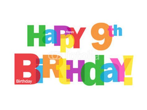 Happy Birthday Wishes For 9 Years 9th Birthday Wishes