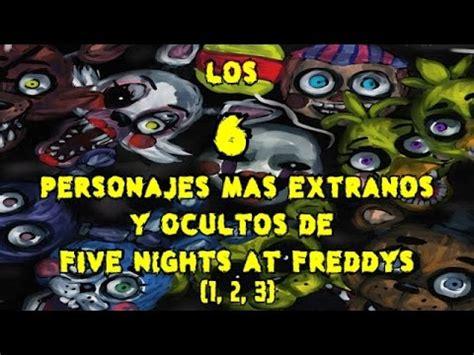 5 terror 237 ficos ataques de tibur 243 n a personas reales v todos los personajes de five nights at freddy s all fnaf