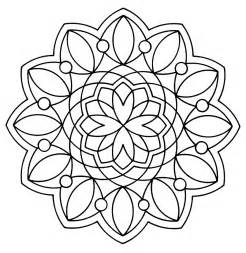 Free Pages free printable geometric coloring pages for