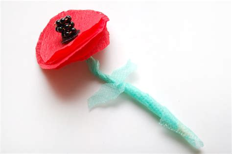 How To Make A Paper Poppy - how to make paper poppies 7 steps with pictures wikihow