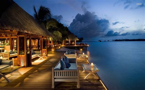 hotel hd images island house wallpaper