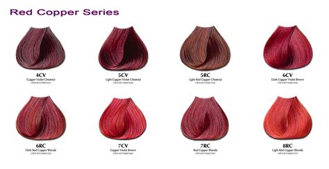 shades of red color chart no red color 2015 brunette benefits of using red hair