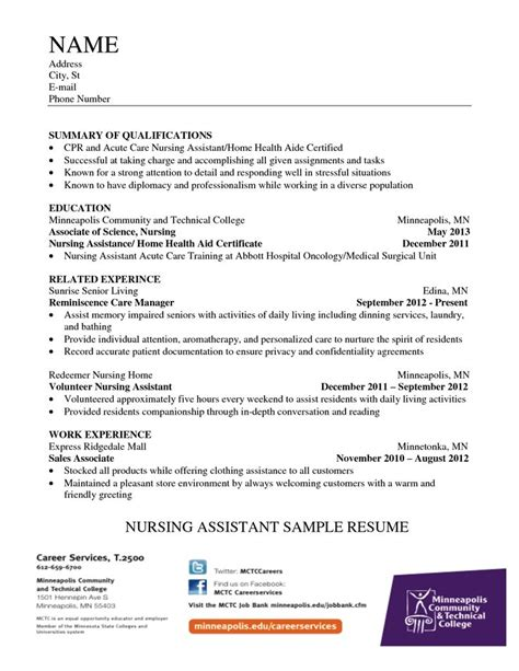 cna job duties resume if you think your cna resume could use some