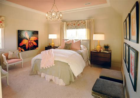 spare bedroom vintage pink brings southern sophistication to showcase