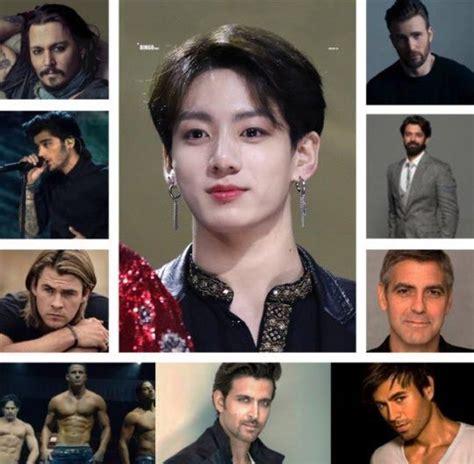 kim taehyung pria tertan di dunia jungkook bts masuk ke daftar 10 pria tertan di dunia