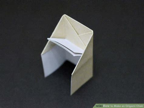 Origami Tips - how to make an origami chair