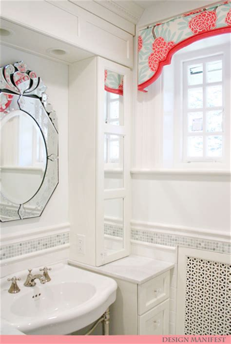 girls bathroom mirror girly glam bath 95 reveal design manifestdesign manifest