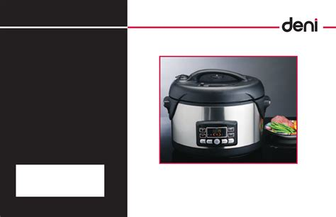 deni electric pressure cooker 9760 user guide