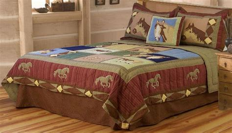 horse comforter sets twin horse bedding horse quilt twin full queen or king